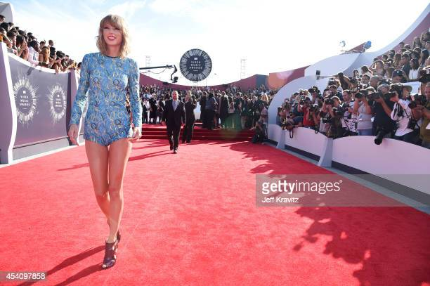 Recording artist Taylor Swift attends the 2014 MTV Video Music Awards at The Forum on August 24 2014 in Inglewood California