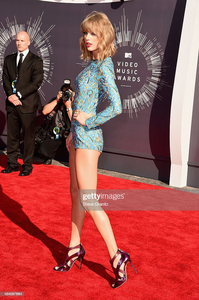 Recording artist Taylor Swift attends the 2014 MTV Video Music Awards at The Forum on August 24, 2014 in Inglewood, California.