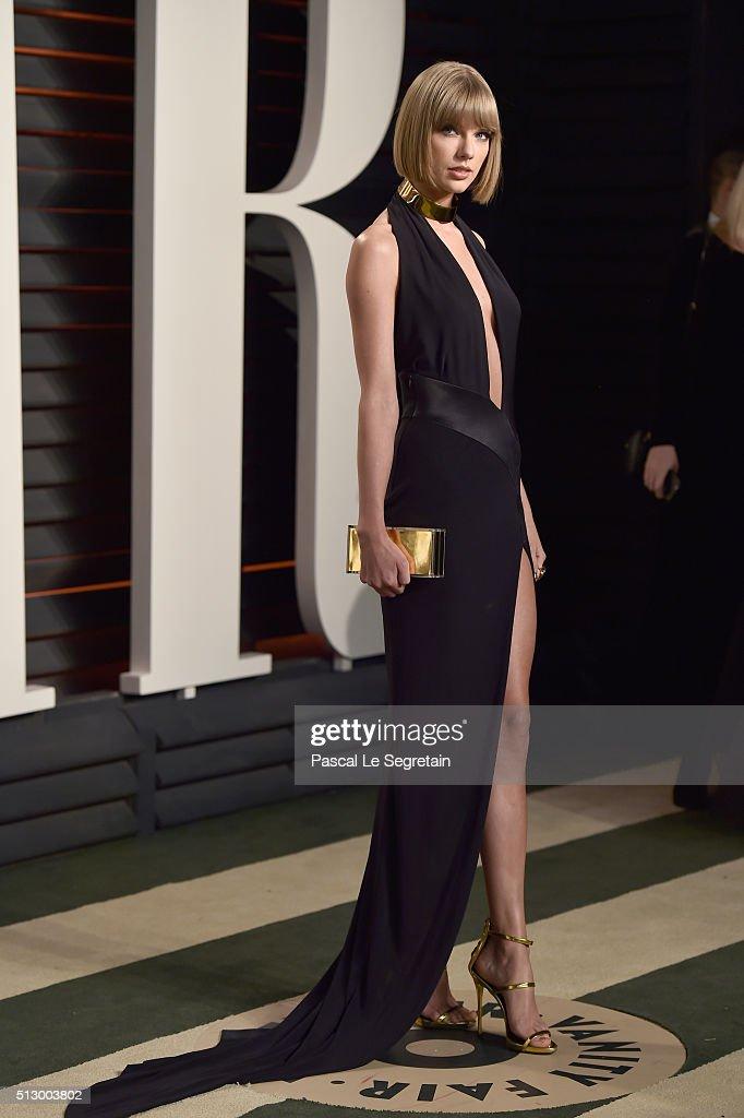 2016 Vanity Fair Oscar Party Hosted By Graydon Carter - Arrivals : Nieuwsfoto's