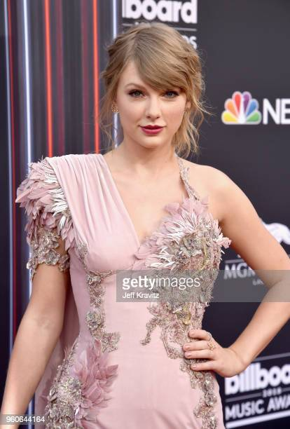 Recording artist Taylor Swift attends the 2018 Billboard Music Awards at MGM Grand Garden Arena on May 20 2018 in Las Vegas Nevada
