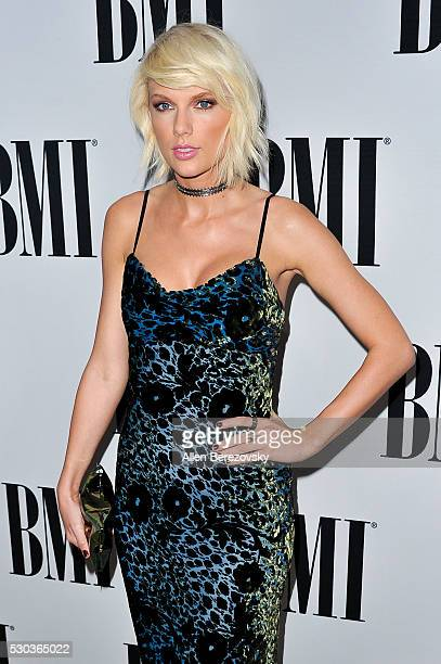 Recording artist Taylor Swift attends the 64th Annual BMI Pop Awards at the Beverly Wilshire Four Seasons Hotel on May 10 2016 in Beverly Hills...