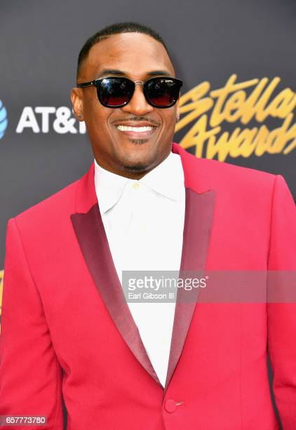 Recording artist Ted Winn arrives at the 32nd annual Stellar Gospel Music Awards at the Orleans Arena on March 25, 2017 in Las Vegas, Nevada.
