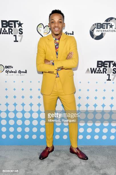Recording artist Tekno attends the 2017 BET International Awards Presentation at Microsoft Theater on June 24 2017 in Los Angeles California