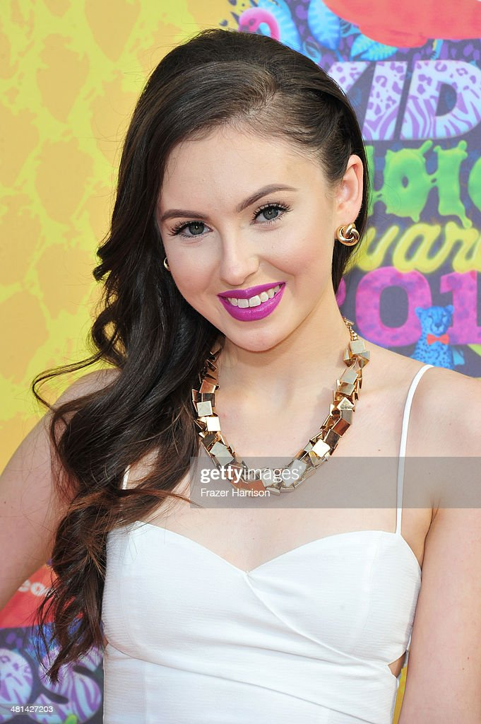 Recording artist Temara Melek attends Nickelodeon's 27th Annual Kids' Choice Awards held at USC Galen Center on March 29, 2014 in Los Angeles, California.