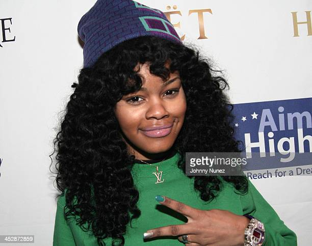 Recording artist Teyana Taylor attends the Kenny Smith 8th Annual AllStar Bash on February 12 2010 in Dallas Texas