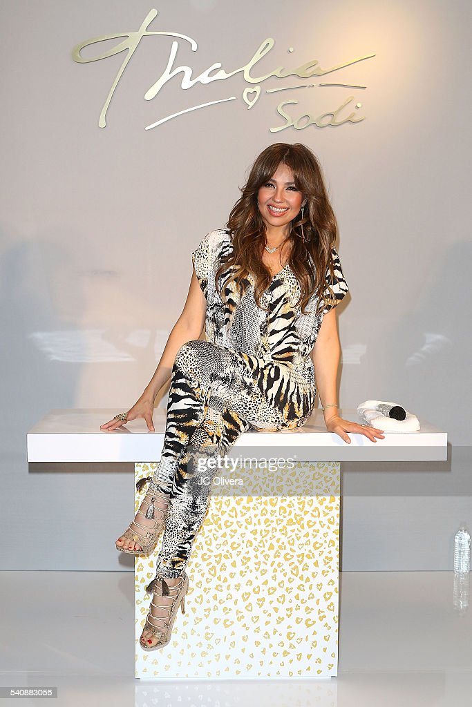 Thalia Sodi Appears At Macy's