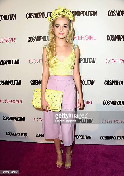 Recording artist That Poppy attends Cosmopolitan's 50th Birthday Celebration at Ysabel on October 12, 2015 in West Hollywood, California.
