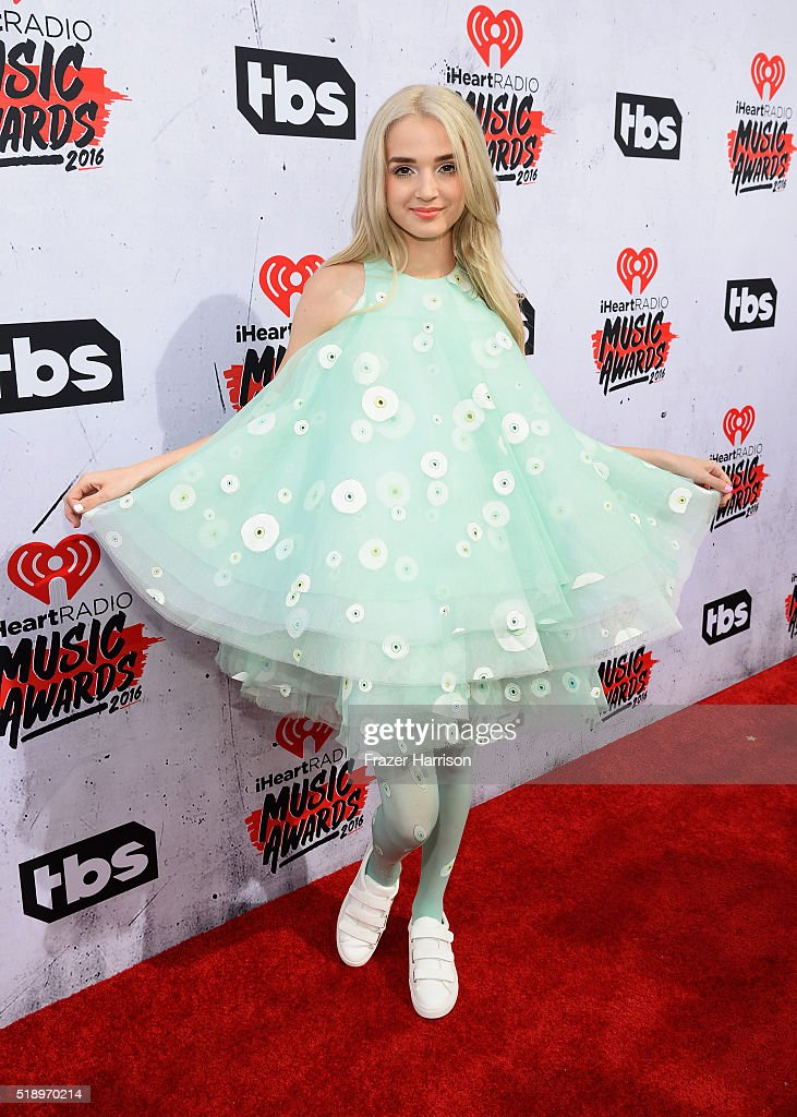 Recording artist That Poppy attends the iHeartRadio Music Awards at The Forum on April 3, 2016 in Inglewood, California.