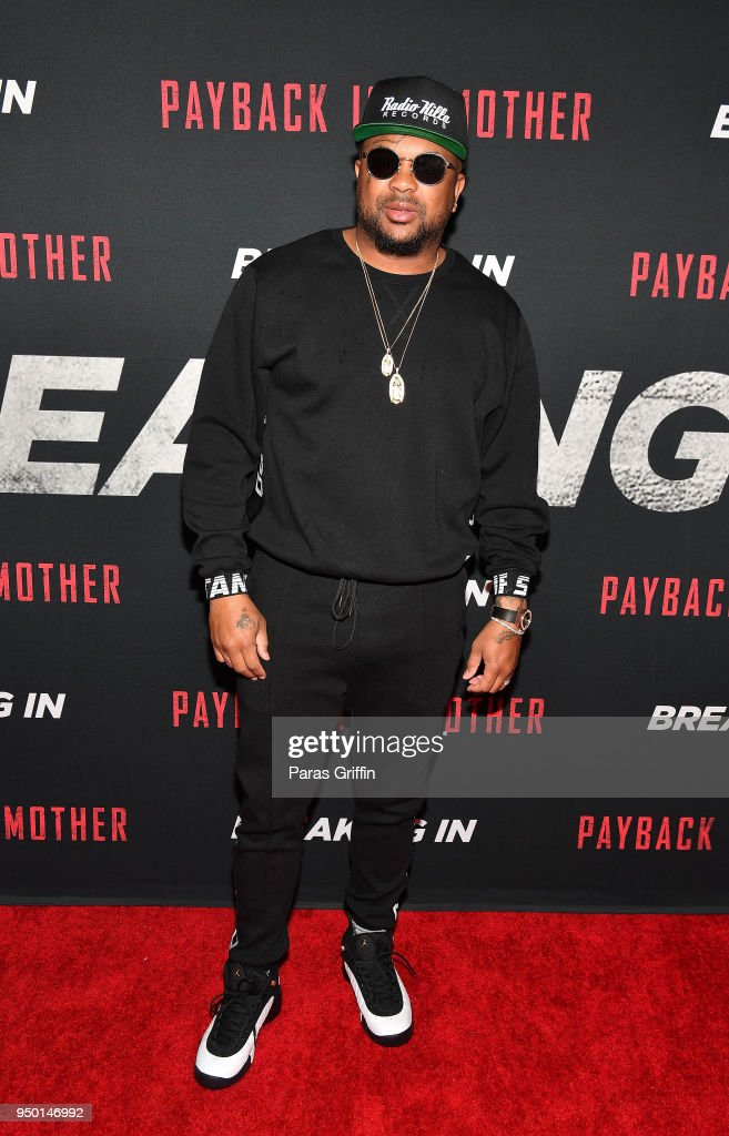 Recording artist The Dream attends 'Breaking In' Atlanta Private Screening at Regal Atlantic Station on April 22, 2018 in Atlanta, Georgia.