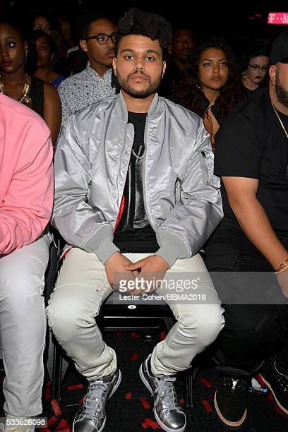 Recording artist The Weeknd attends the 2016 Billboard Music Awards at TMobile Arena on May 22 2016 in Las Vegas Nevada