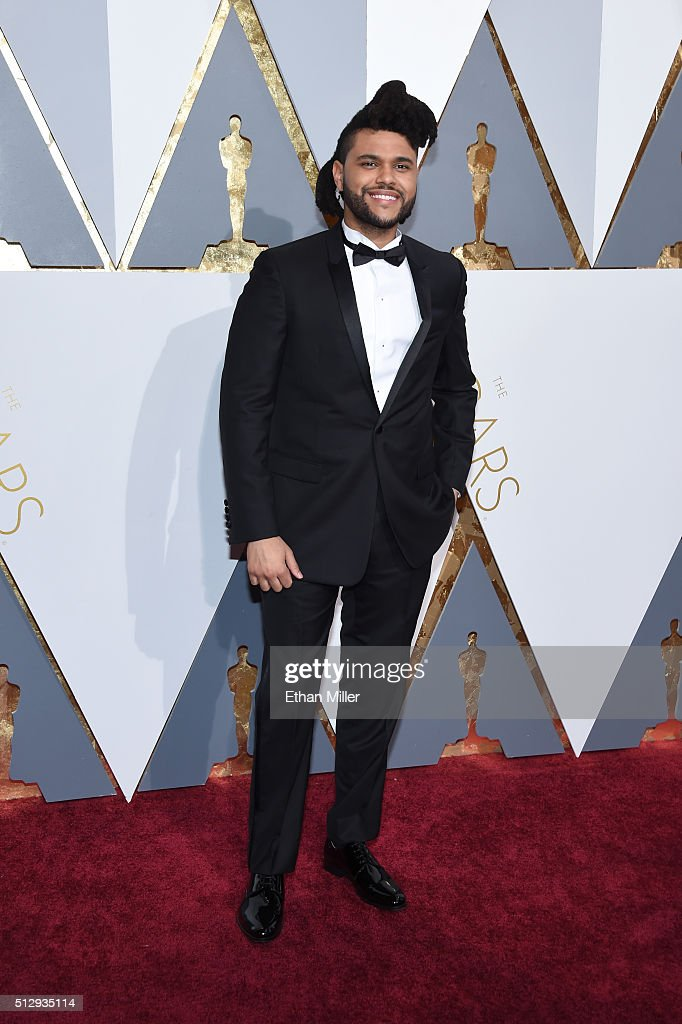 Recording artist The Weeknd attends the 88th Annual Academy Awards at Hollywood & Highland Center on February 28, 2016 in Hollywood, California.