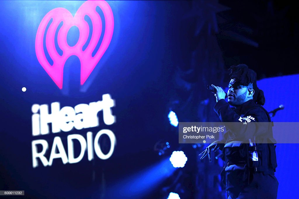 Recording artist The Weeknd performs onstage during 102.7 KIIS FM's Jingle Ball 2015 Presented by Capital One at STAPLES CENTER on December 4, 2015 in Los Angeles, California.