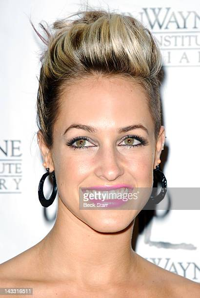 Recording Artist Tiffany Dunn Arrives At John Wayne Cancer Institutes 27th Annual Odyssey Ball At The
