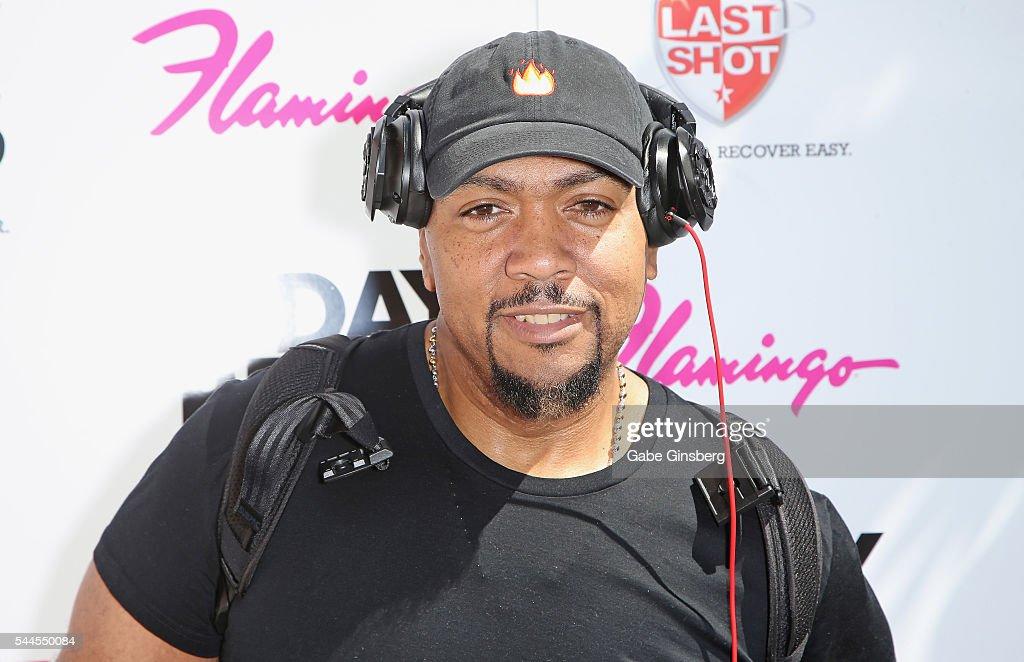 Timbaland Performance at Flamingo Las Vegas' Go Pool : News Photo