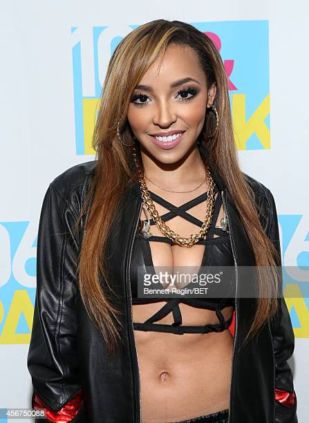 Recording artist Tinashe attends 106 Park LIVE at BET studio on October 6 2014 in New York City