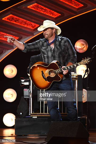 Recording artist Toby Keith performs onstage during the 2016 American Country Countdown Awards at The Forum on May 1 2016 in Inglewood California