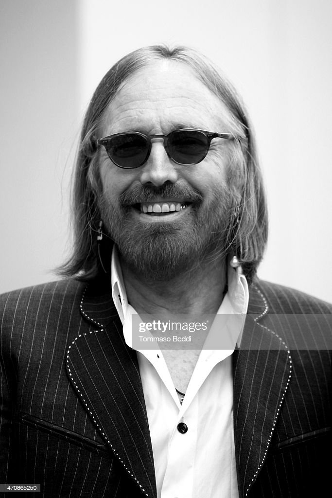 Recording artist Tom Petty attends a ceremony honoring Recording artist Jeff Lynne wtih a Star on The Hollywood Walk Of Fame on April 23, 2015 in Hollywood, California.