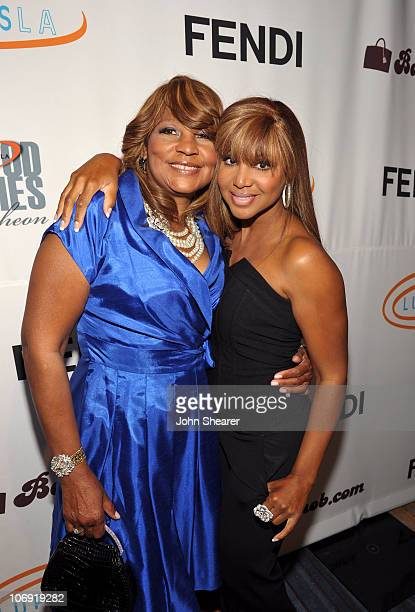 Recording artist Toni Braxton and her mother Evelyn Braxton attend the 8th Annual Lupus LA Hollywood Bag Ladies Luncheon at the Beverly Wilshire Four...
