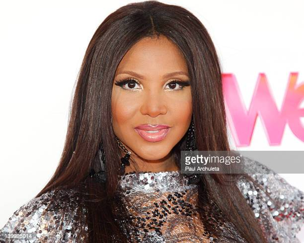 "Recording Artist Toni Braxton arrives at the ""Braxton Family Values"" reunion special taping at The LA Stock Exchange on February 25, 2012 in Los..."