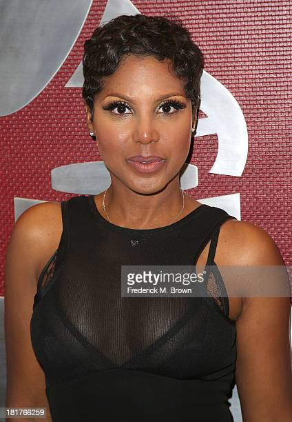 Recording artist Toni Braxton attends A Converstion with Toni Braxton and Kenny 'Babyface' Edmonds at The Recording Academy on September 24 2013 in...