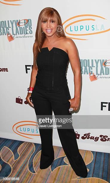 Recording artist Toni Braxton attends Lupus LA's 8th Annual Lupus LA Orange Ball at the Beverly Wilshire Four Seasons Hotel on November 16 2010 in...
