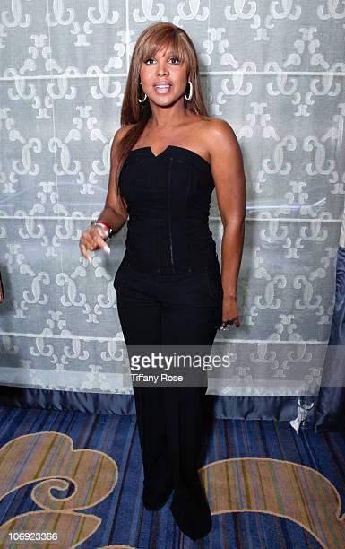 Recording artist Toni Braxton attends Lupus LA's 8th Annual Orange Ball on November 16 2010 in Beverly Hills California