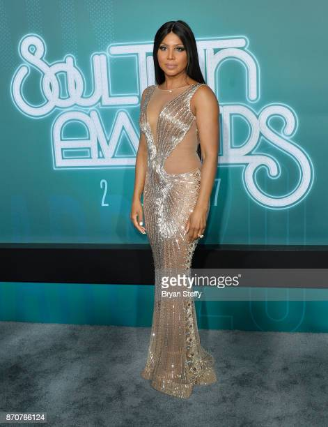 Recording artist Toni Braxton attends the 2017 Soul Train Music Awards at the Orleans Arena on November 5 2017 in Las Vegas Nevada