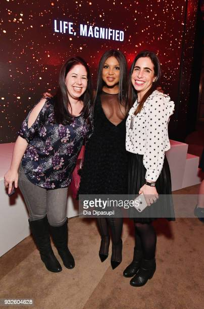 Recording artist Toni Braxton attends the 2018 AE Upfront on March 15 2018 in New York City