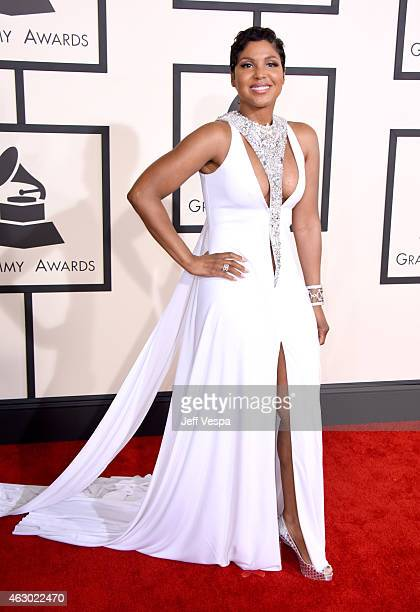 Recording artist Toni Braxton attends The 57th Annual GRAMMY Awards at the STAPLES Center on February 8 2015 in Los Angeles California