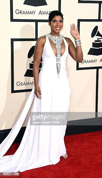 Recording artist Toni Braxton attends The 57th Annual GRAMMY Awards at the STAPLES Center on February 8, 2015 in Los Angeles, California.