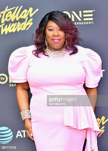 Recording artist Tonya LewisTaylor arrives at the 32nd annual Stellar Gospel Music Awards at the Orleans Arena on March 25 2017 in Las Vegas Nevada