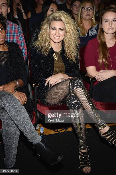 Recording artist Tori Kelly attends AE Networks 'Shining A Light' concert at The Shrine Auditorium on November 18 2015 in Los Angeles California
