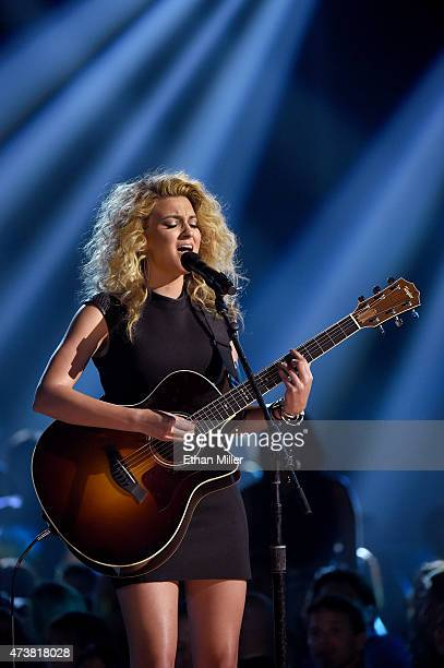 Recording artist Tori Kelly performs onstage during the 2015 Billboard Music Awards at MGM Grand Garden Arena on May 17 2015 in Las Vegas Nevada