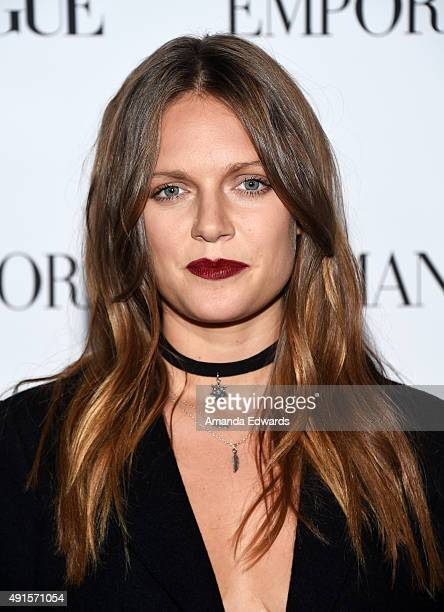 Recording artist Tove Lo arrives at Teen Vogue's 13th Annual Young Hollywood Issue Launch Party on October 2 2015 in Los Angeles California