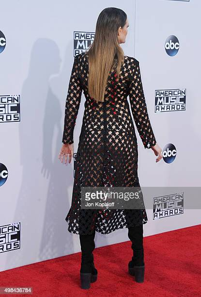 Recording artist Tove Lo arrives at the 2015 American Music Awards at Microsoft Theater on November 22 2015 in Los Angeles California