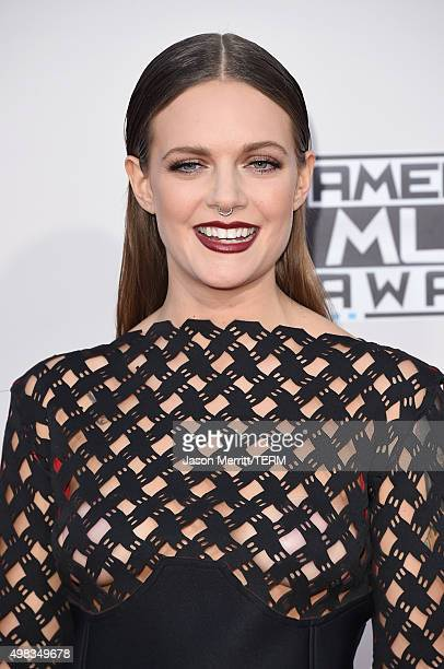 Recording artist Tove Lo attends the 2015 American Music Awards at Microsoft Theater on November 22 2015 in Los Angeles California