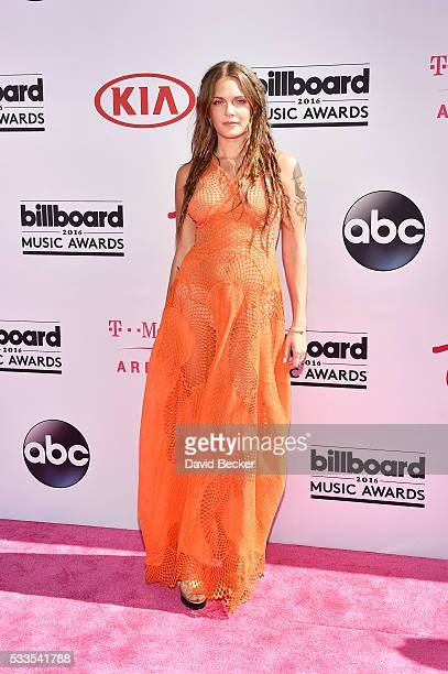 Recording artist Tove Lo attends the 2016 Billboard Music Awards at TMobile Arena on May 22 2016 in Las Vegas Nevada