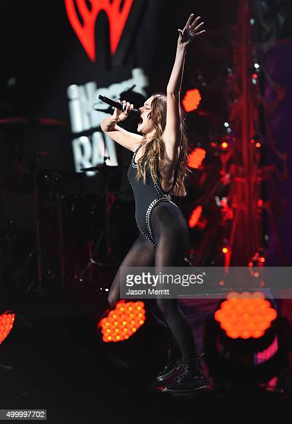 Recording artist Tove Lo performs onstage during 102.7 KIIS FM's Jingle Ball 2015 Presented by Capital One at STAPLES CENTER on December 4, 2015 in...