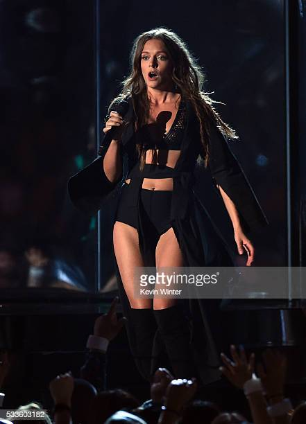 Recording artist Tove Lo performs onstage during the 2016 Billboard Music Awards at TMobile Arena on May 22 2016 in Las Vegas Nevada