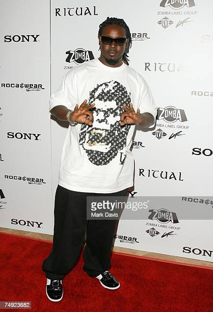 Recording artist TPain arrives to Zomba Label Group's PreBET Awards Party featuring Ciara held at Ritual Nightclub on June 25 2007 in Hollywood...