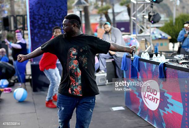 Recording artist TPain performs during Whatever USA on May 29 2015 in Catalina Island California Bud Light invited 1000 consumers to Whatever USA for...
