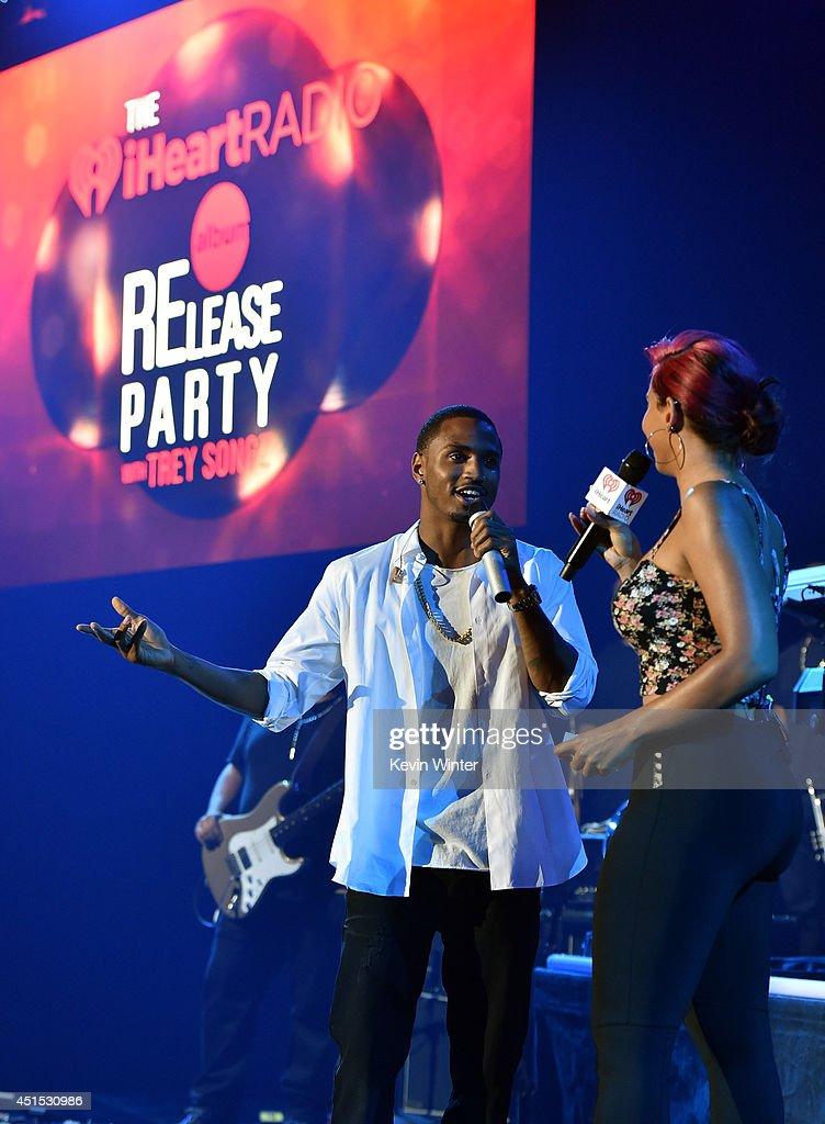 Trey Songz iHeartRadio Album Release Party : Foto jornalística