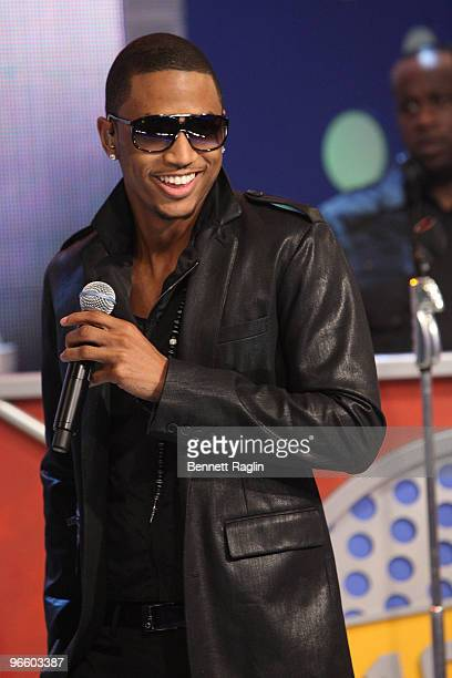 Recording artist Trey Songz visits BET's 106 Park at BET Studios on February 11 2010 in New York City