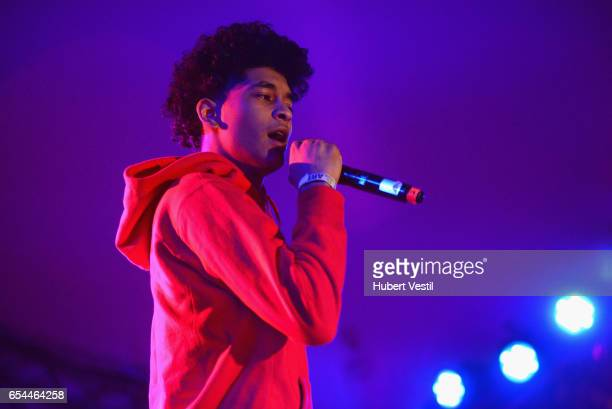 Recording artist TRiLL Sammy performs onstage at the Mass Appeal music showcase during 2017 SXSW Conference and Festivals at Stubbs on March 16 2017...