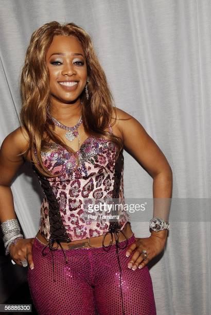 Recording artist Trina attends Club AI at Houston Grand Plaza Hotel February 18 2006 in Houston Texas