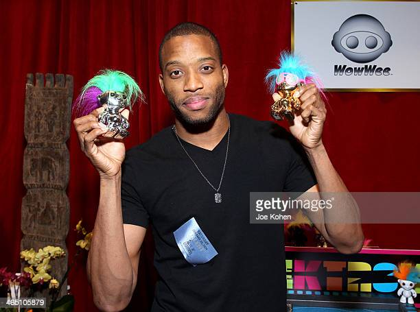 Recording artist Trombone Shorty attends the GRAMMY Gift Lounge during the 56th Grammy Awards at Staples Center on January 25 2014 in Los Angeles...
