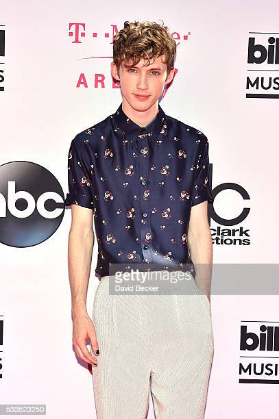 Recording artist Troye Sivan attends the 2016 Billboard Music Awards at TMobile Arena on May 22 2016 in Las Vegas Nevada