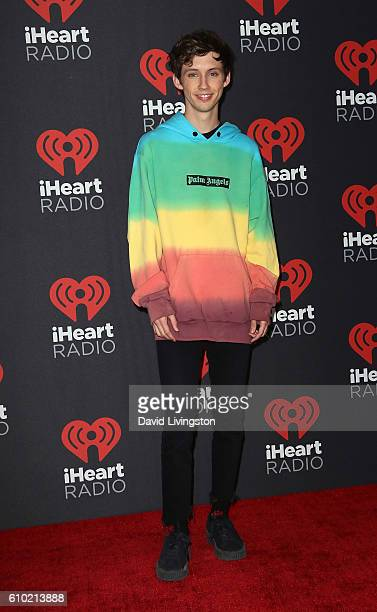 Recording artist Troye Sivan attends the 2016 iHeartRadio Music Festival Night 2 at TMobile Arena on September 24 2016 in Las Vegas Nevada