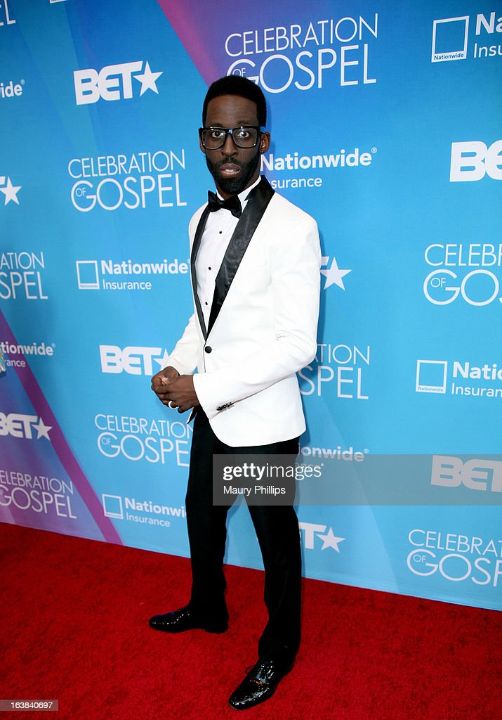 Recording artist Tye Tribbett attends the BET Celebration of Gospel 2013 at Orpheum Theatre on March 16, 2013 in Los Angeles, California.