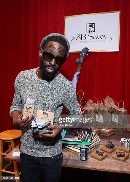 Recording artist Tye Tribbett attends the GRAMMY Gift Lounge during the 56th Grammy Awards at Staples Center on January 25 2014 in Los Angeles...
